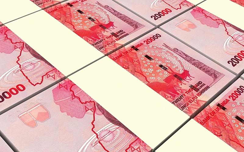 帐单,乌干达,背景,水平画幅,形状,无人,绘画插图,金融,非洲,银行业