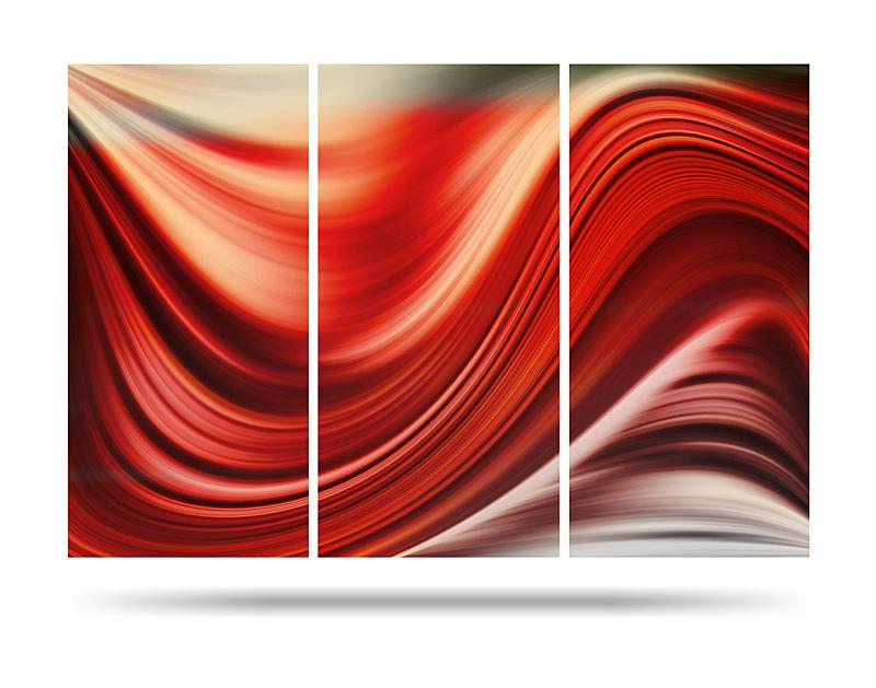 抽象,波形,纹理,红色背景,未来,边框,艺术,水平画幅,形状,无人
