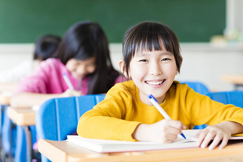 知识,教室,幸福,学生,女孩,美,青少年,半身像,水平画幅,智慧