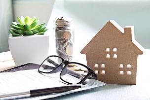 银行对帐单,房屋,模型,书桌,会计科目,木制,办公室,桌子,眼镜