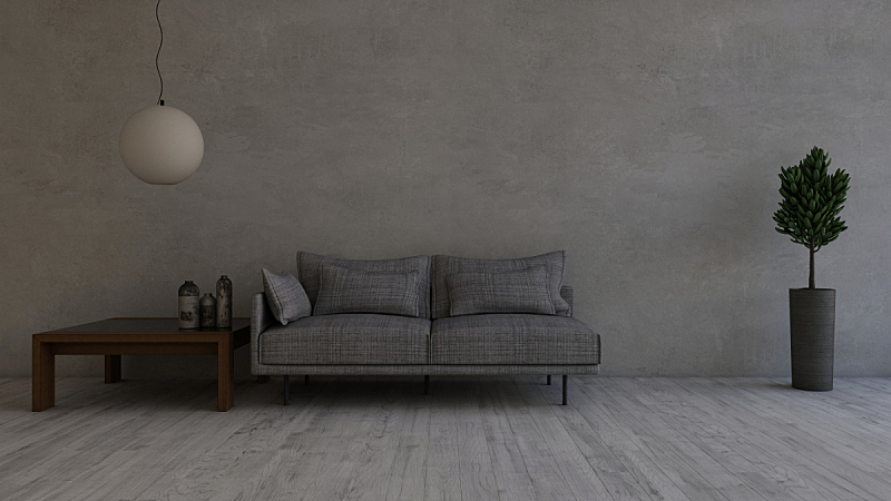 室内,三维图形,现代,起居室,家具,人类肌肉,健美身材,重量,新的,空的