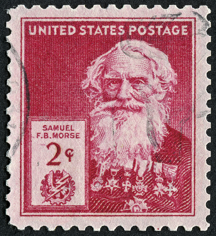 samuel,兄弟会,英文字母b,塞缪尔莫尔斯,海象,电报机,发明家,邮戳,红色