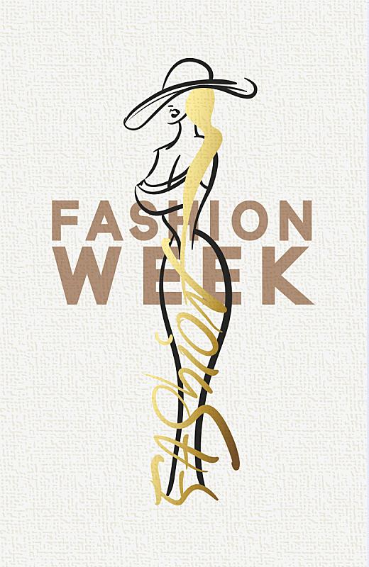 高雅,女人,时尚,计算机图标,塞萨洛尼基,横截面,华贵,复古风格,现代