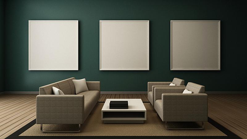 室内,极简构图,轻蔑的,起居室,正下方视角,建筑结构,小毯子,水平画幅,灯,家具