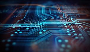 技术,橙色,蓝色,背景聚焦,电路板,母板,中央处理器,超文本链接标示语言,电脑芯片,网络服务器