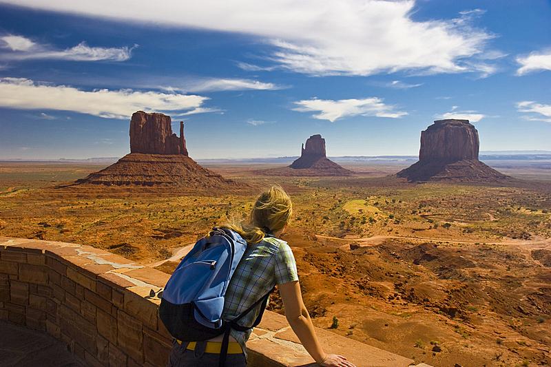 纪念碑山谷,纪念碑谷部落公园,美国,纳瓦霍族,天空,水平画幅,沙子,偏远的,户外,自由