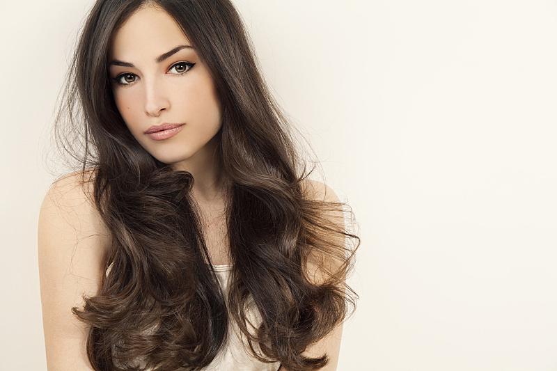 发型,美,棕色头发,长发,头发,美人,魅力,美发师,时装模特,人体