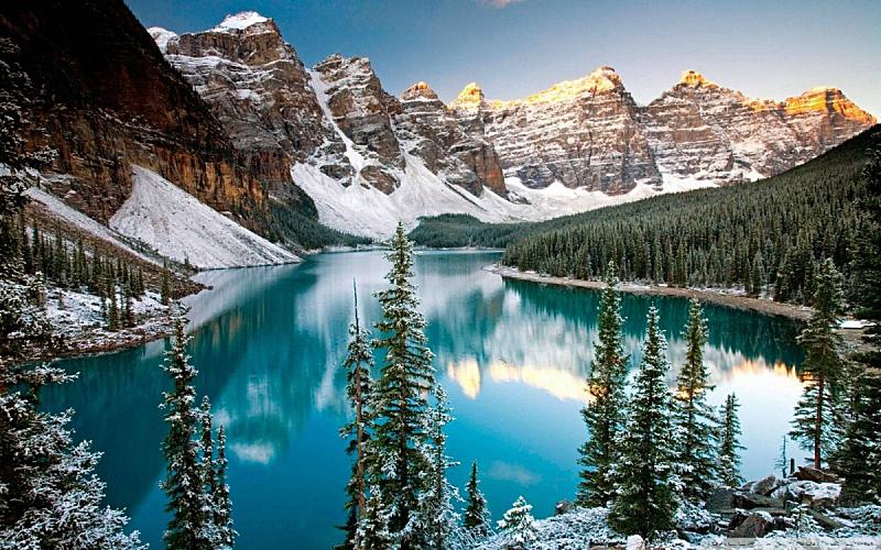阿尔卑斯山脉,自然,水平画幅,地形,夜晚,无人,欧洲,苏格兰,户外,湖