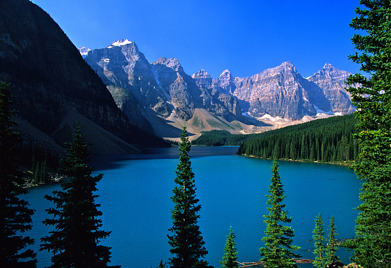梦莲湖,阿尔伯塔省,自然,洛矶山脉,水平画幅,地形,无人,户外,湖