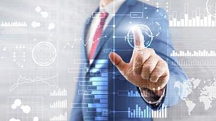 商务,图表,智慧,仪表板,易接近性,前景聚焦,商人,股票,投资