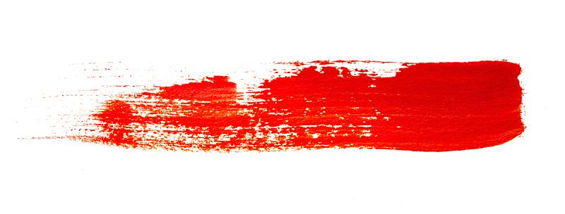 涂料,红色,艺术,水平画幅,无人,全景,抽象,白色背景,背景分离,创造力