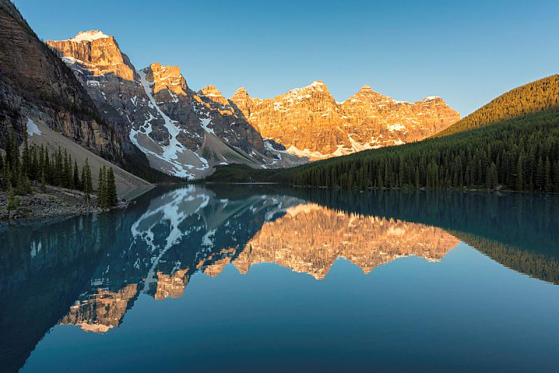 洛矶山脉,班夫国家公园,加拿大,国家公园,水平画幅,阿尔伯塔省,无人,夏天,户外,湖