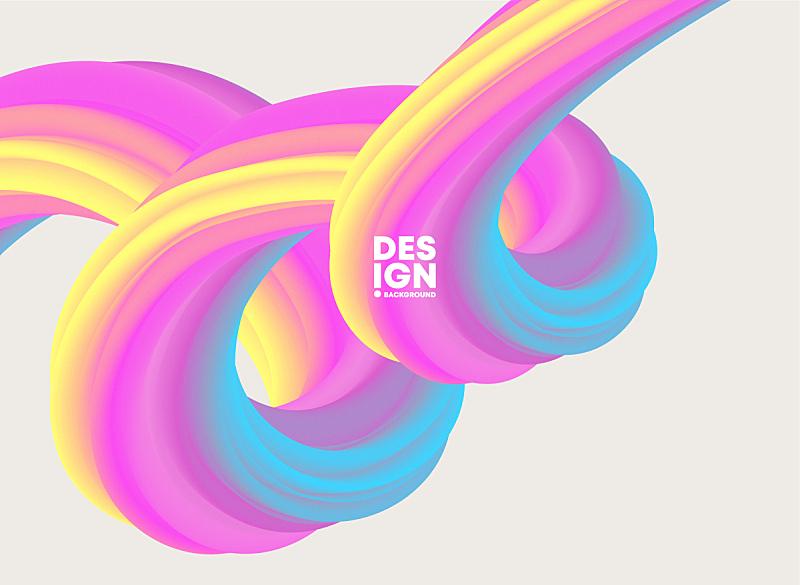 现代,色彩鲜艳,形状,几何形状,背景,抽象,山,流动,聚会