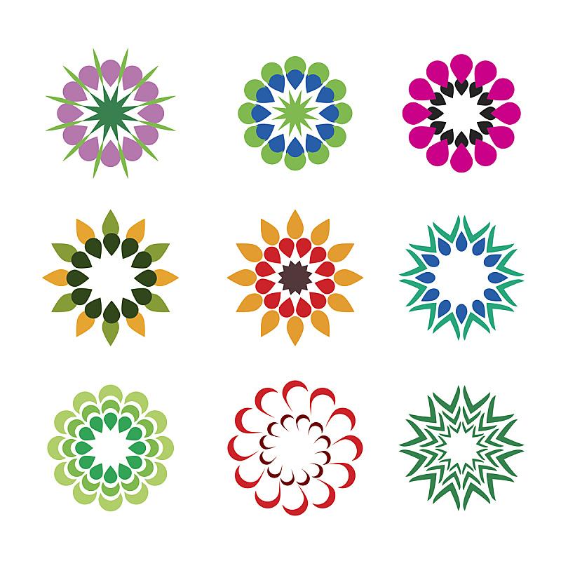仅一朵花,几何形状,彩色图片,华丽的,部分,背景分离,环境,象征主义,大丽花属,春天