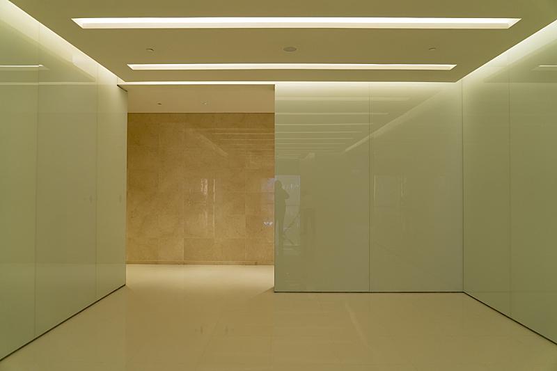 住宅房间,简单,办公室,褐色,新的,门口,水平画幅,无人,天花板,干净