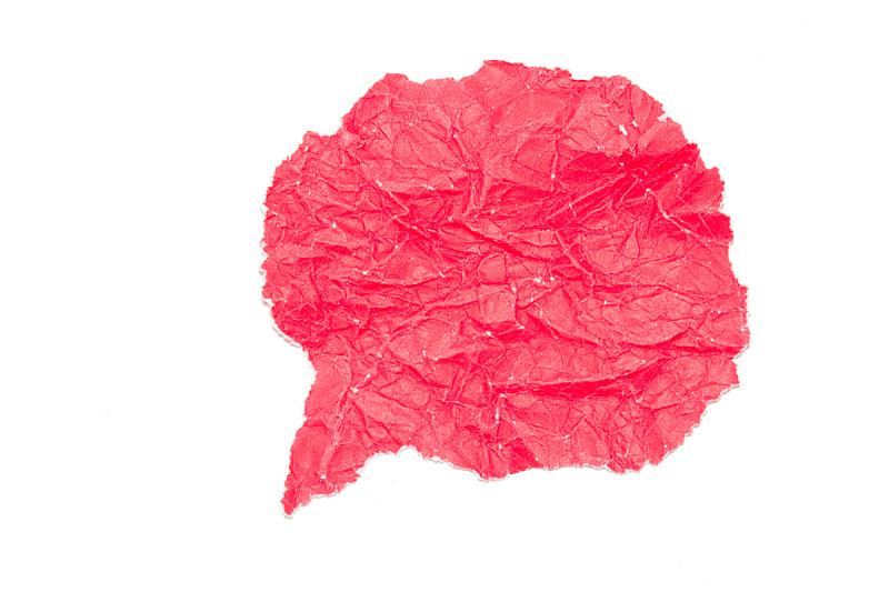 泡泡,红色,纸,白色背景,留白,面无表情,古老的,古典式,标签,白色
