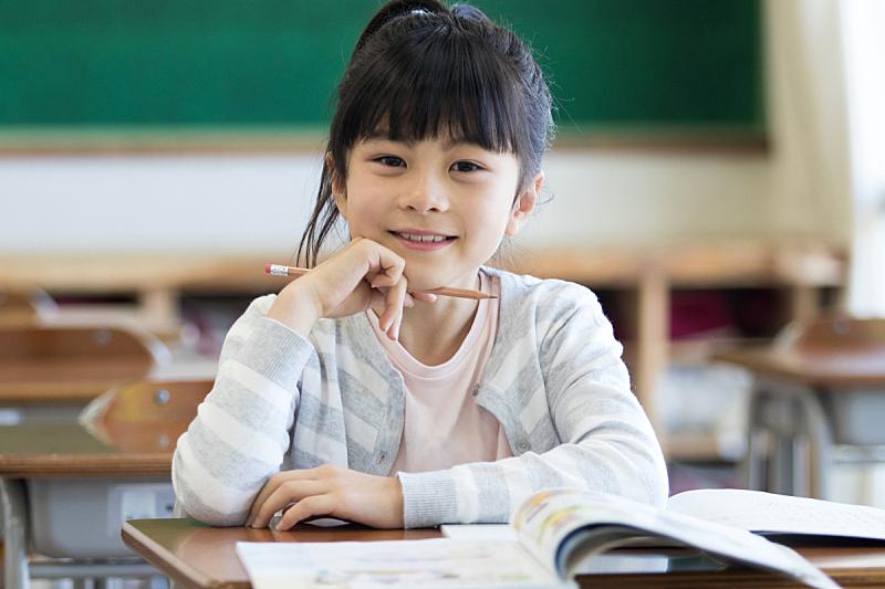 知识,教室,女孩,座位,水平画幅,智慧,日本人,学校,动机,白日梦