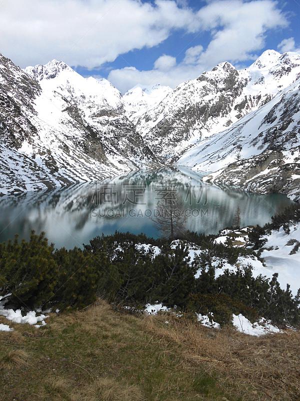 山景城,垂直画幅,雪,无人,户外,山脊,高处,运动,冬天,山