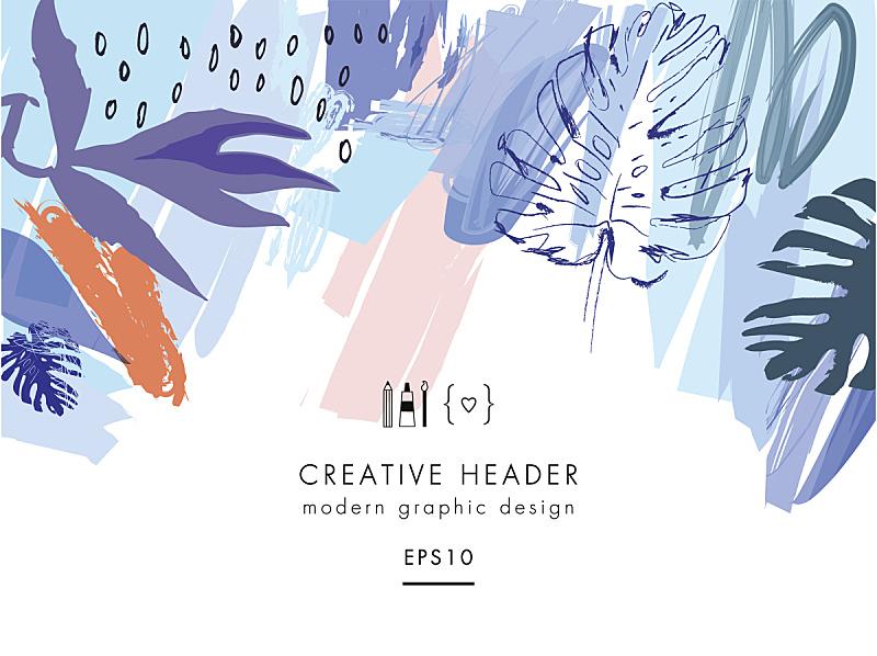 时尚,创造力,头球,鸡尾酒,全球通讯,贺卡,水彩画颜料,热带气候,从容态度,现代