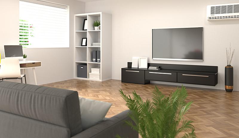 住宅房间,智慧,前面,砖墙,办公室,电视机,计算机,母球,会议室,笔记本