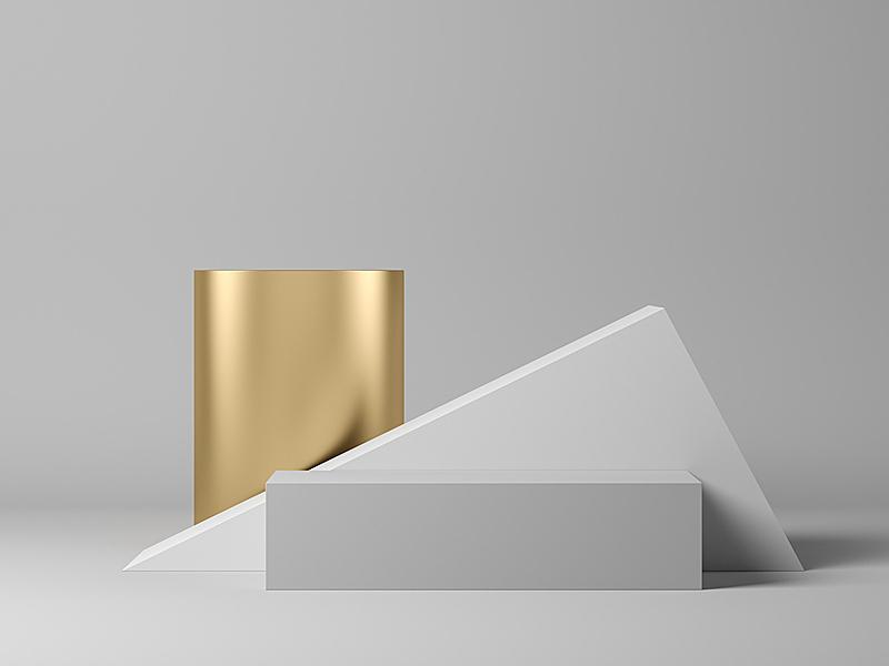 几何形状,灰色,三维图形,抽象,图表,边框,底座,现代,立方体形状,背景