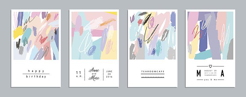贺卡,创造力,全球通讯,彩色蜡笔,蜡笔画,稀缺,华丽的,请柬,水彩画颜料,布置