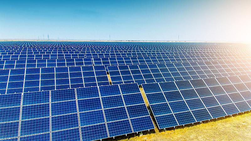 太阳能电池板,航拍视角,电源,发电站,太阳能发电站,可再生能源,替代能源,动力设备,太阳能,车站