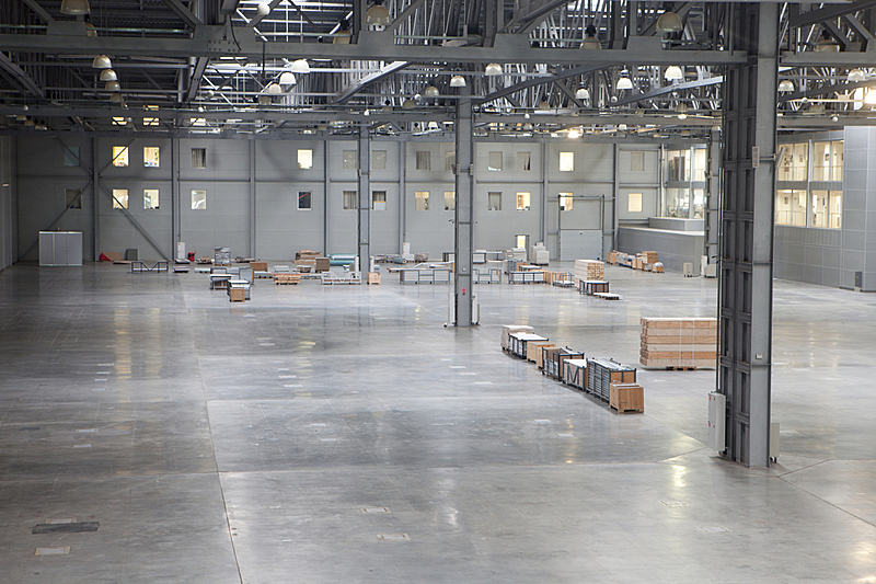 仓库,极简构图,太空,水平画幅,配送中心,无人,巨大的,工厂,飞机库,金属