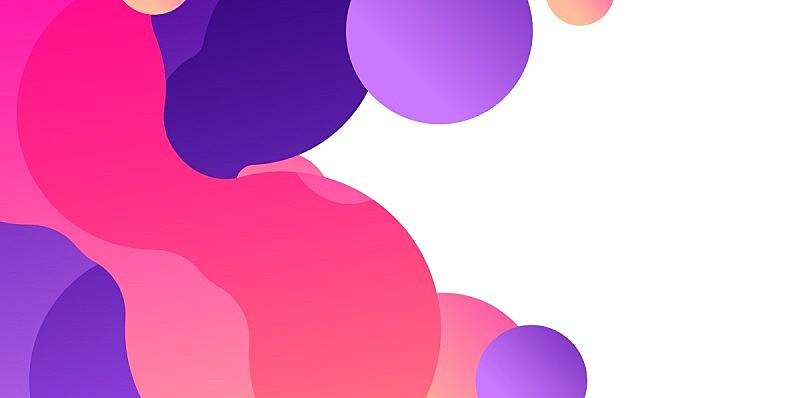 背景,极简构图,液体,抽象,几何形状,技术,橙色,模板,现代,弯曲