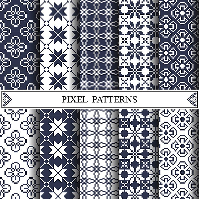 式样,纺织品,像素化,背景,小毯子,艺术家,手艺,绘画插图,抽象