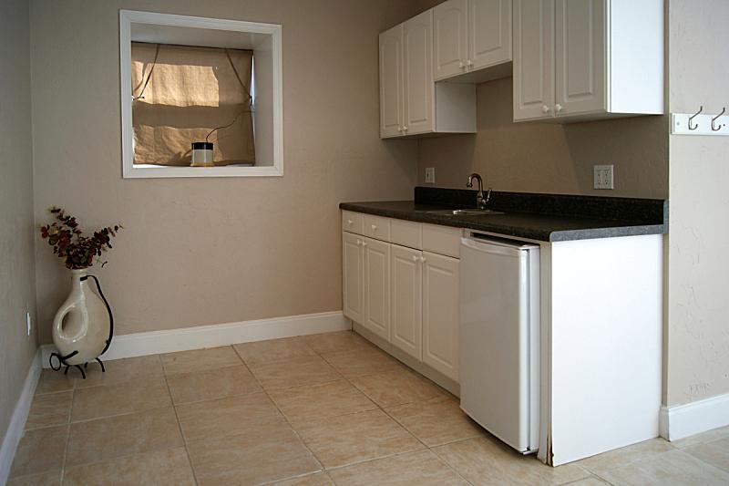 公寓,效率,厨房,窗户,住宅房间,灰色,水平画幅,墙,无人,柜子
