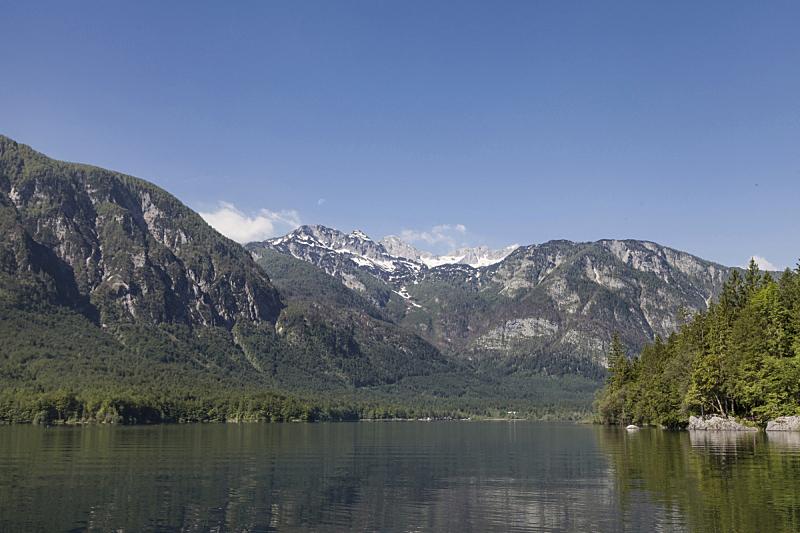 看,波悉尼,自然,水,水平画幅,山,阿尔卑斯山脉,无人,户外,湖