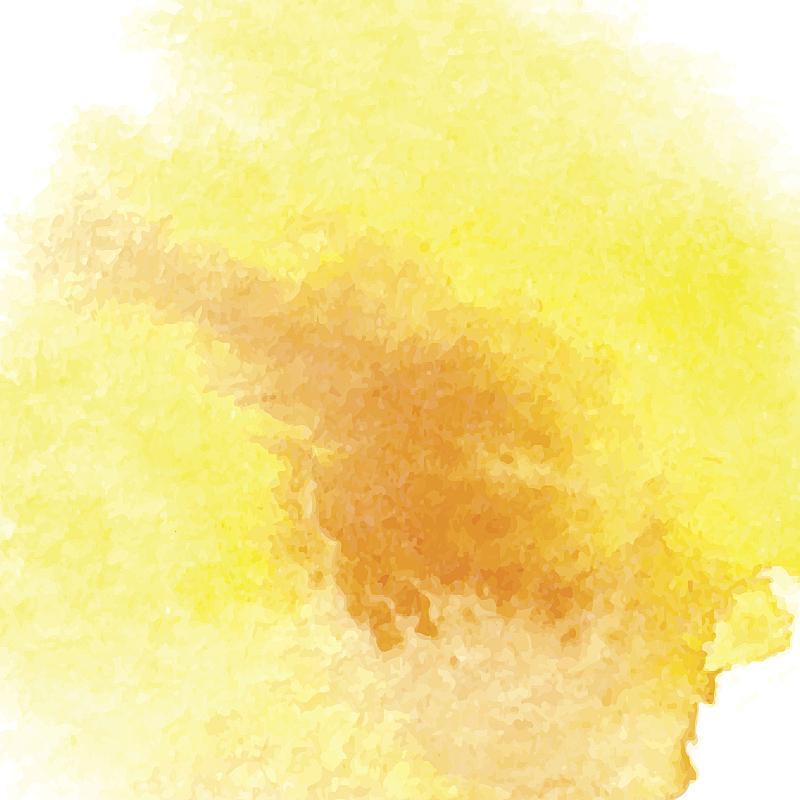 式样,水彩画,黄色,水彩颜料,水彩画颜料,纹理效果,贺卡,背景分离,美术工艺