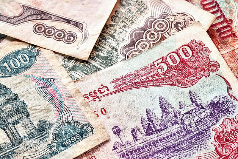 柬埔寨,特写,储蓄,水平画幅,银行,财务项目,无人,符号,金融,金融和经济