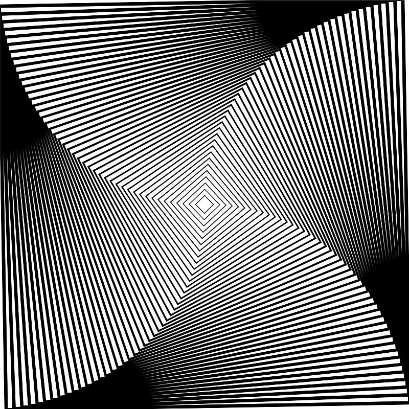 螺线,背景,矢量,方形画幅,黑白图片,山,迷幻色,几何形状,美术工艺,迷幻艺术
