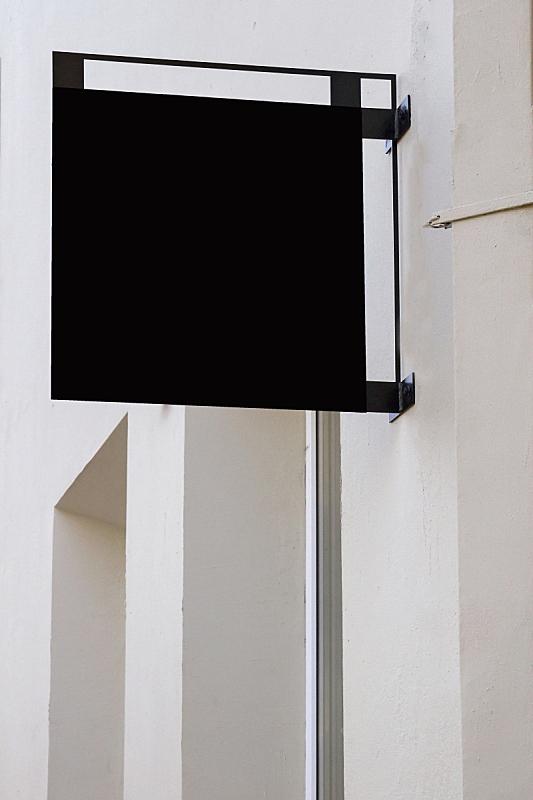 墙,轻蔑的,布告,黑色,正方形,正下方视角,垂直画幅,留白,外立面,消息