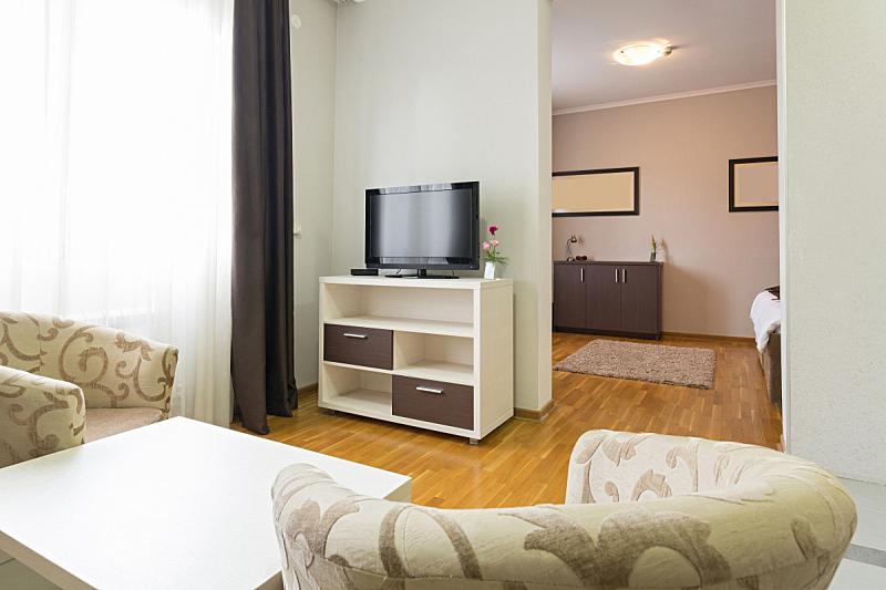 现代,室内,宾馆套房,度假胜地,水平画幅,墙,无人,椅子,早晨,地毯