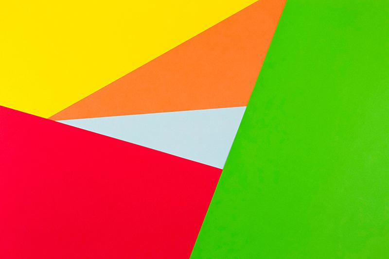 背景,红松,纸,橙色,黄色,青绿色,绿色,水平画幅,设计,摄影
