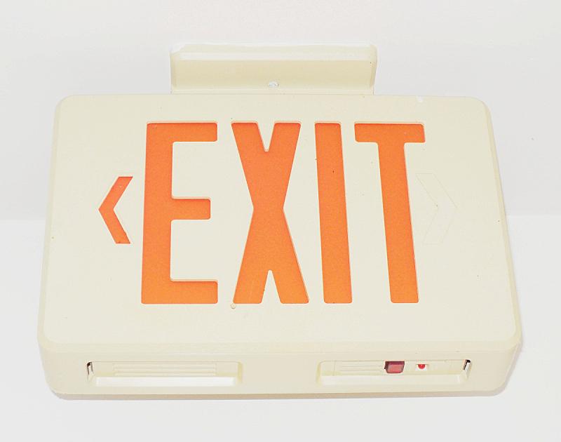 出口标志,水平画幅,无人,符号,方向,红色,方向标,火,标志,酒店