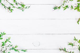 白色,背景,苹果,木制,平铺,风景,留白,夏天,想法,书桌