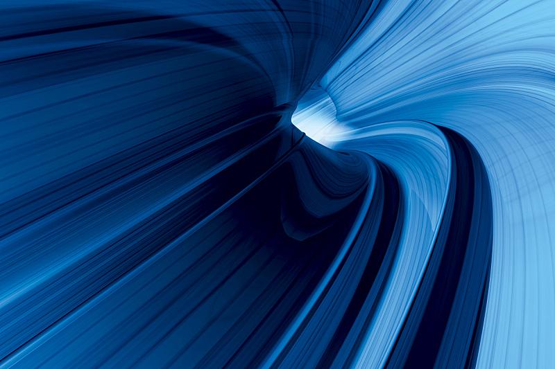 迅速,蓝色,隧道,纳米技术,垂直画幅,未来,形状,能源,无人,绘画插图