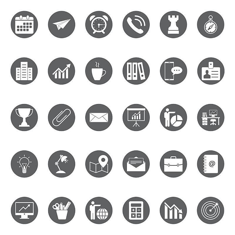 商务,图标集,办公室,领导能力,绘画插图,税,经理,税表,技术,计算机