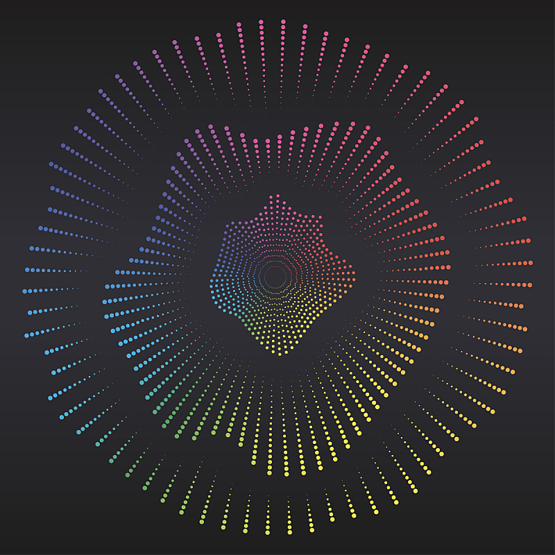 绘画插图,音频混合器,矢量,斑点,彩虹,数码图形,声波,夜晚,音量旋钮,光