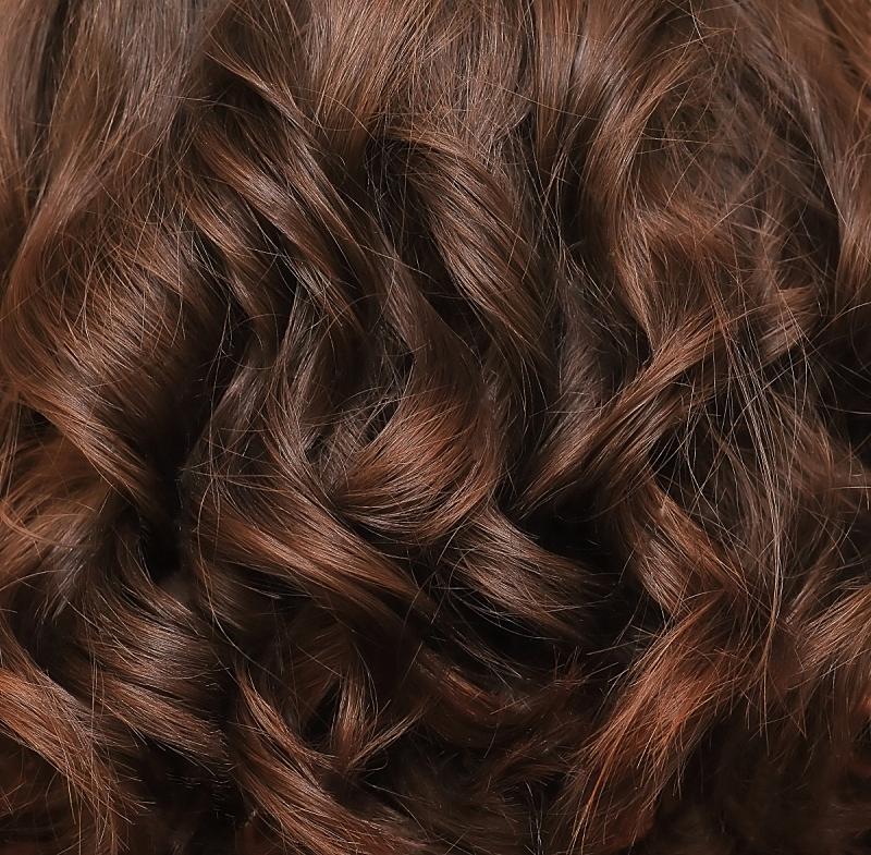 特写,棕色头发,头发,卷着的,发型,闪亮的,大特写,纹理,美,自然