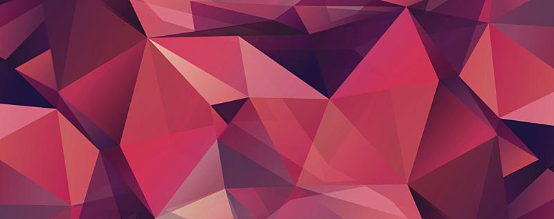 红色,背景,镶嵌图案,矢量,绘画插图,时髦的,钻石,几何学