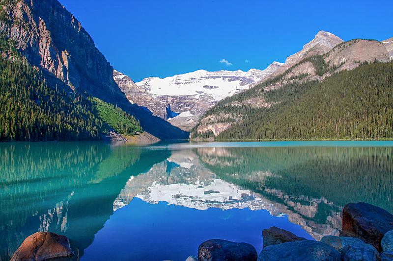 湖,自然,洛矶山脉,水平画幅,岩石,秋天,阿尔伯塔省,无人,蓝色,夏天