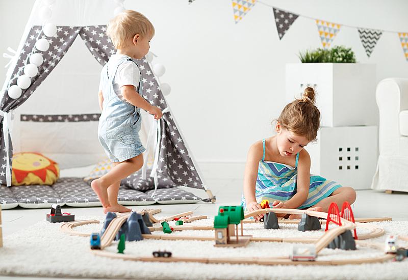 进行中,娱乐室,儿童,快乐,住宅内部,玩具,学龄前,儿童房,休闲活动,水平画幅