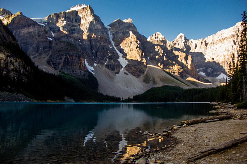 加拿大,梦莲湖,国内著名景点,环境,雪,湖,岩石,夏天,户外,天空