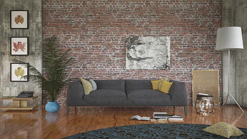 起居室,座位,水平画幅,纹理效果,无人,硬木地板,乡村风格,家具,家居设施,居住区
