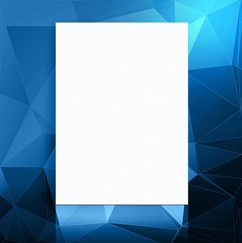 空白的,住宅房间,蓝色,影棚拍摄,纸,式样,垂直画幅,留白,边框